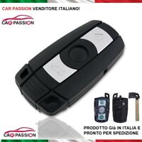COVER CHIAVE GUSCIO BMW SERIE 1 3 5 X1 X3 X5 Z4 TELECOMANDO 3 TASTI HU92