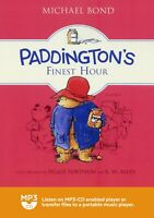 Michael Bond / Paddington's Finest Hour / Audio / read by Stephen Fry / MP3CD