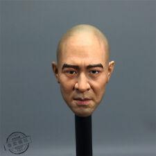 "1:6 Scale Jet Lee Head Model Sculpt For 12"" Male Action Figure Body"