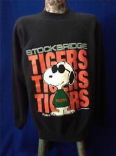 596f97a4a Vintage Peanuts Snoopy Joe Cool Stockbridge Tigers High School Sweatshirt  Shirt