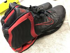 Nike Shox Flight Lethal TB Zoom Basketball Sneakers Size 11 Black Red 2005 VC