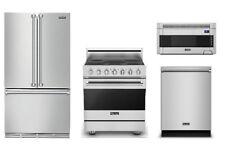 Viking Special Value Package: Refrigerator, Range, Microwave, & Dishwasher