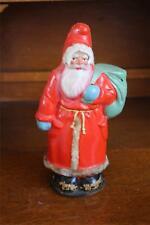 Antique Santa Claus Candy Container Paper Papier Mache No Reserve