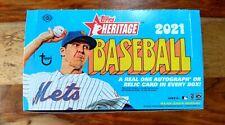 2021 Topps Heritage MLB Base Singles #1-399 - All NM!