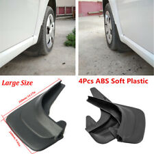 4Pcs Black ABS Soft Plastic Car Truck Mudflaps Splash Guards Fender Accessories