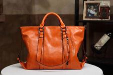 Women Handbags Shoulder Bags Tote Oil Wax Leather Messenger Vintage Satchel New