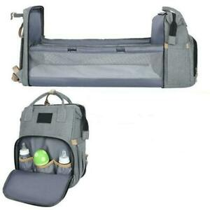 Baby Stroller Diaper Bag with Included Baby Bed, Baby Bag, Baby Portable Bed