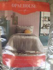 Twin Size Comforter Set Gray