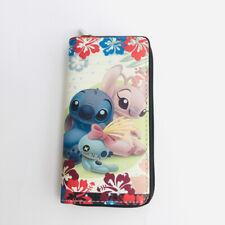lilo&stitch scrump PU purse wallet card unisex bag handbag wallets cartoon new