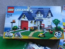 LEGO 3 IN 1 CREATOR 5891 HOUSE CONSTRUCTION SET