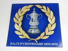 ESSO FA CUP CENTENARY COINS 1972, Empty Collector Card NEAR PERFECT CONDITION