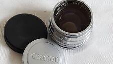 Mint Canon 50mm f1.5 Leica LTM M39 w UV - Canon's Sonnar - Perfect glass & focus
