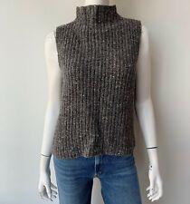 Madewell Grey Turtleneck Sweater Sleeveless Size Medium