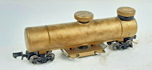 CMX BRASS TRACK CLEANING CAR VERY GOOD CONDITION UNBOXED N SCALE(WL)