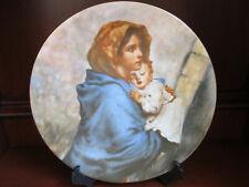Haviland Limoges Madonnina Madonna & Child by Ferruzzi Collector Plate ~ 1973