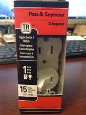 1~ Legrand 15-Amp 120/125-Volt WHITE Indoor Duplex Wall Outlet – 691TR-WCC6