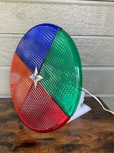 Vintage Rotating Color Wheel for Aluminum Christmas Tree Light Lamp CW-1
