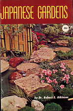 1961 Japanese Gardens, Robert E Atkinson, Bamboo Bonsai Stepping Stones Pools