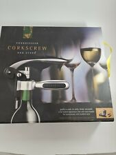 Connoisseur Corkscrew and Stand New in Box. Barcraft.