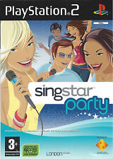 SINGSTAR PARTY for Playstation 2 PS2 - with box & manual - PAL