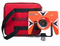 AdirPro All-Metal Single Tilt Prism With Case Surveying, Seco Topcon Spectra