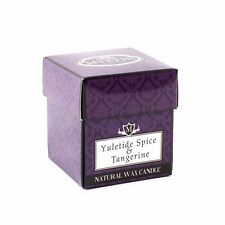Mystix London | Yuletide Spice & Tangerine Scented Candle Small (CAND8CLFOYSTA)
