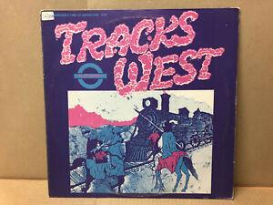 Tracks West - Platform 1 TW Records – Plat 1 - 1983  Alternative New Wave comp