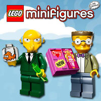 LEGO Minifigures #71005, #71009 - The Simpsons - Burns + Smithers - 100% NEW