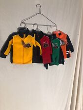 Nwt Kids Sweater And Vest Combos 4 Sets 6/9 Months Yellow Red Green Orange