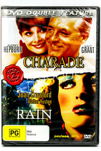 Charade + Rain: Double Feature Pack - Rare DVD Aus Stock New Region 4