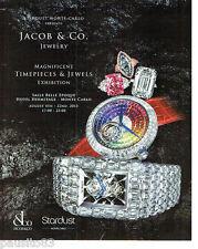 PUBLICITE ADVERTISING 066  2015  Jacob & Co joaillier montres