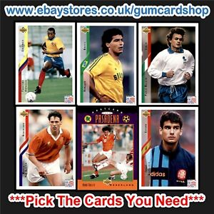Upper Deck World Cup USA 94 (200 to UD30) *Please Choose Cards*