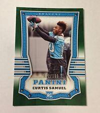 Curtis Samuel 2017 Panini GREEN BRAVERY Rookie #d 63/199 Panthers RC Buckeyes