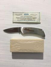 Vintage Folding Knife! Zippo Swift Industries! W Cute Box And Paperwork! Pocket