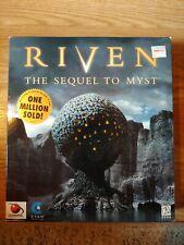 Riven: The Sequel to Myst Cyan PC/MAC Big Box Game CD ROM Original Vintage