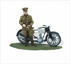 LEAD SOLDIERS MOTORCYCLE - ROYAL AIR FORCE WWI, NORTON 1916 - SMI045