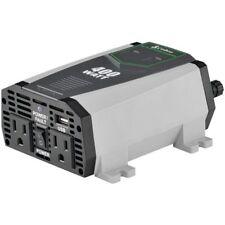 Cobra Electronics CPI490 DC 12v to 120v AC Power Inverter 400 Watts 2.1a USB