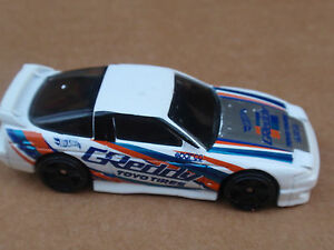 2016 Hot Wheels 96 NISSAN 180SX TYPE X 176/250 Speed Graphics LOOSE White