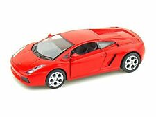 "Brand New Kinsmart 5"" Lamborghini Gallardo Diecast Model Toy Car 1:32- Red"