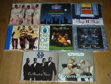 LOT 8 CD maxi BOYS II 2 MEN let it snow THE JACKSONS i remember THANK YOU sympin