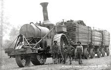 1912 PHOTO GRANTS PASS OREGON - Oregon Lumber Train