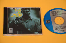 CD (NO LP ) JOHN LEE HOOKER SINGS THE BLUES TOP JAZZ ORIG GERMAY EX