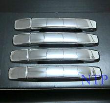 Chrome Handle Cover for Nissan Navara D40 No key hole model 2006-2013 free ship