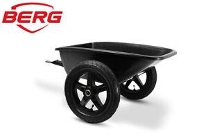 Berg Trailer L Large Black - GoKart trailer - For Buddy & Rally Orange Go-Karts