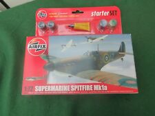 AIRFIX SUPERMARINE SPITFIRE MK 1a 1:72 SCALE MODEL STARTER KIT