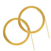 2 Pcs Guitar Bindings Purfling Strips for Luthier Parts 1650x6x1.5mm ABS Cream