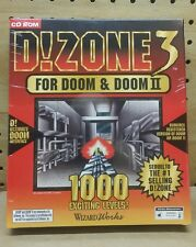 DOOM & DOOM II Add On - D!Zone 3 Brand New Factory Sealed Box - 1000 New Levels!