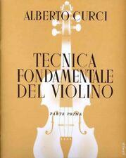Alberto Curci Tecnica Fondamentale Del Violino Parte 1a