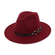 16 Colors Fedora Hat Caps Wide Brim Panama Hat Gangster Trilby Cap Jazz Headwear
