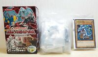 Yugioh Monsters Collection 5DS BLUE EYES WHITE DRAGON figure & card YU-GI-OH!